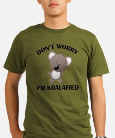 Don't Worry I'm Koalafied T-Shirt