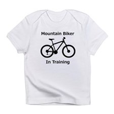 Mountain Biker in training Infant T-Shirt