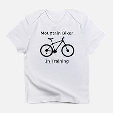 Mountain Biker in training Infant T-Shirt