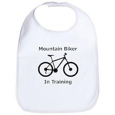 Mountain Biker in training Bib