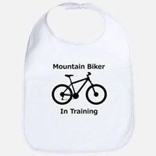 Mountain Biker in training Bib