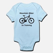 Mountain Biker in training Body Suit