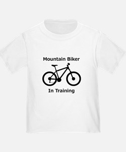 Mountain Biker in training T-Shirt