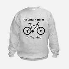 Mountain Biker in training Sweatshirt