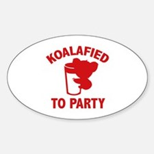 Koalafied To Party Decal