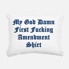 1st shirt Rectangular Canvas Pillow