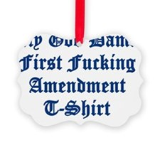 1st t shrit Ornament