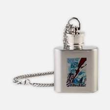 Death to US Imperialists! Flask Necklace