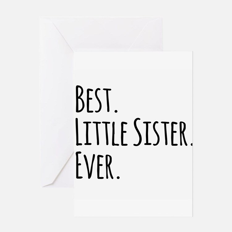 Best sister ever stationery cards invitations greeting for Best holiday cards ever