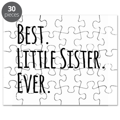 Best Little Sister Ever Puzzle by Admin_CP49789583
