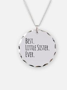 Best Little Sister Ever Necklace