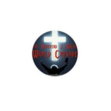Reverend World Crusade BACK Mini Button
