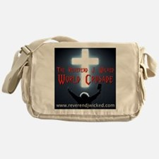 Reverend World Crusade BACK Messenger Bag