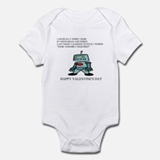 valentine gifts and apparel Infant Bodysuit