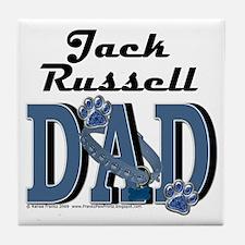 JackRussellDad Tile Coaster