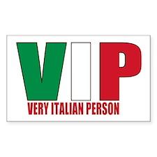 Italian Pride Decal