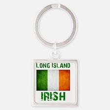 long_island_irish_2 Square Keychain