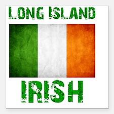 "long_island_irish_2 Square Car Magnet 3"" x 3"""