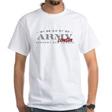 Proud Army Cousin (red) Shirt