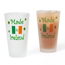made_in_ireland_1 Drinking Glass