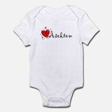 """I Love You"" [Kurdish] Infant Bodysuit"