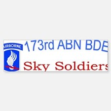 173rd ABN BDE CAP1 Bumper Bumper Sticker