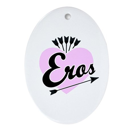 Eros Oval Ornament