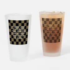 lostchessbutton Drinking Glass