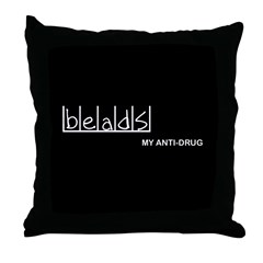 Beads - My Anti-Drug Throw Pillow