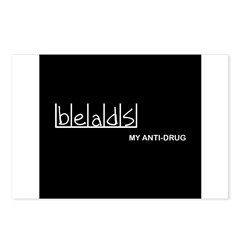 Beads - My Anti-Drug Postcards (Package of 8)
