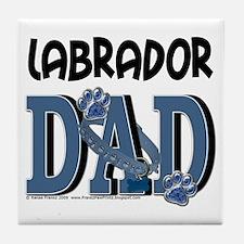 LabradorDad Tile Coaster