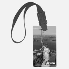 Marks Statue T-shirt Luggage Tag