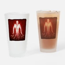 bloodmage1 Drinking Glass