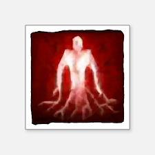 "bloodmage1 Square Sticker 3"" x 3"""