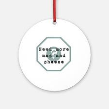 lost_blast_door_puzzle_mac_cheese Round Ornament