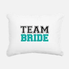 Team Bride Rectangular Canvas Pillow