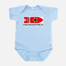 Aerosmack A Black Infant Bodysuit