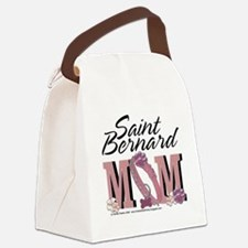 StBernardMom Canvas Lunch Bag
