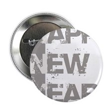 "Happy new year 2.25"" Button"