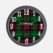 Lindsay Clan Wall Clock