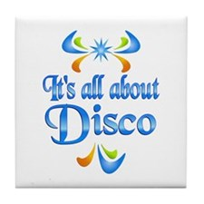 About Disco Tile Coaster