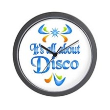 About Disco Wall Clock