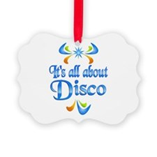 About Disco Picture Ornament