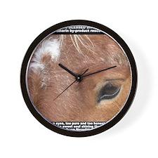 Niki shirt updated Wall Clock