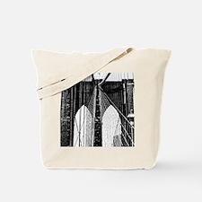 Brooklyn Bridge Cables gym bag Tote Bag