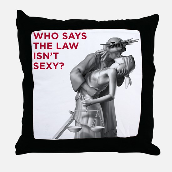 Sexy_v2_FRONT Throw Pillow