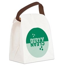 dirtyclean_greens Canvas Lunch Bag