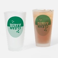 dirtyclean_greens Drinking Glass