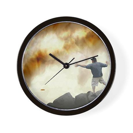 philperkins_joe_volcano_trans Wall Clock