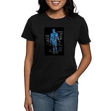Muscles anatomy body T-Shirt